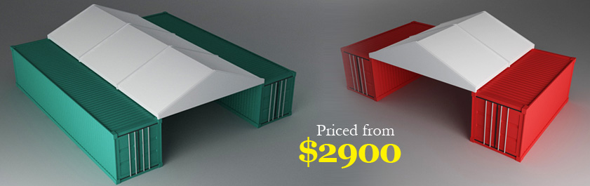 Container Covers, Container Shelters, Container Covers Australia